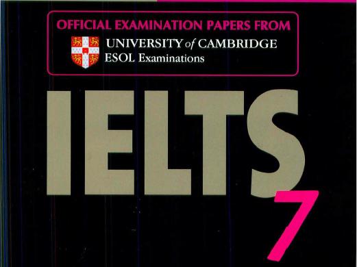 剑桥雅思7——高清PDF版本下载电子版分享!