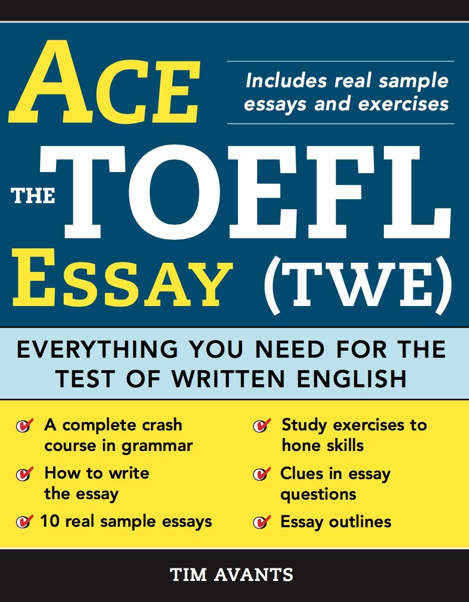 国外原版托福写作教材《Ace the TOEFL Essay》 PDF资源共享(音频+视频)
