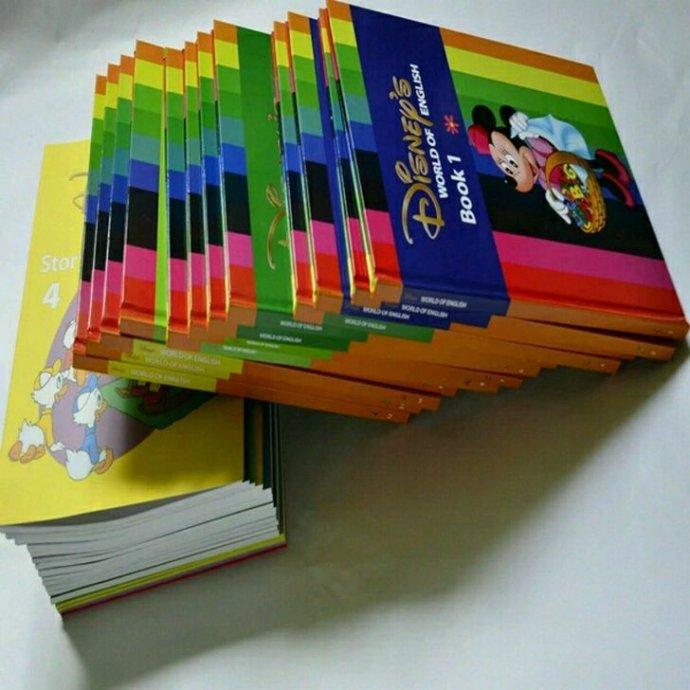 《迪士尼美语世界》DVD+绘本 云盘资源