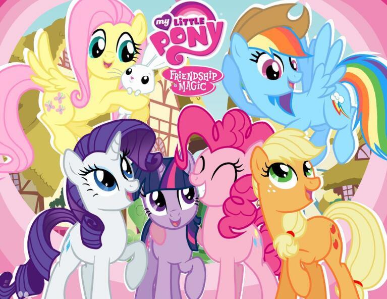 《小马宝莉My Little Pony》英文版全季 MP4资源共享
