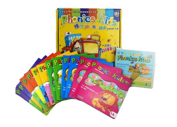 合适4~12岁学习英语的书籍——Phonics Kids全套<b style='color:red'>资料</b>分享