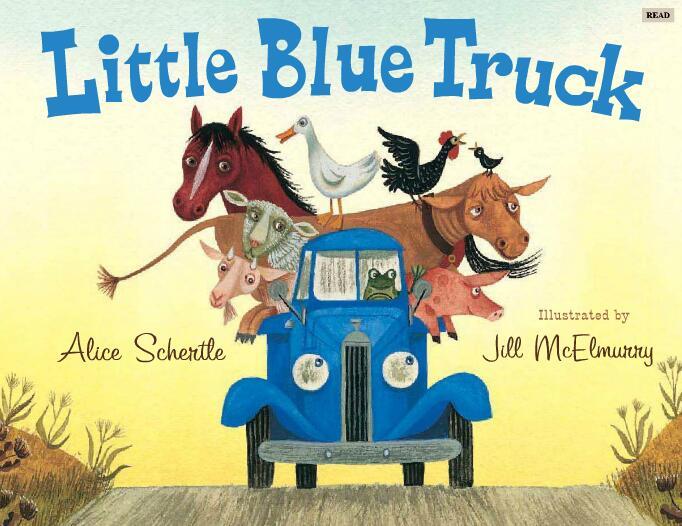少儿英语学习资源  Little Blue Truck高清免费下载百度云分享!