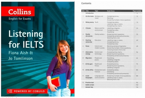 Listening for IELTS(Collins) PDF+MP3下载资源分享