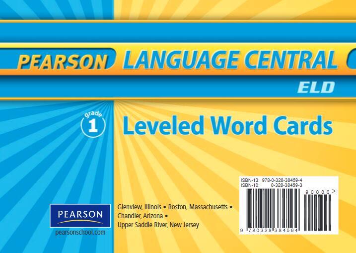 少儿英语启蒙 卡片书 《leveled word card》5册PDF格式