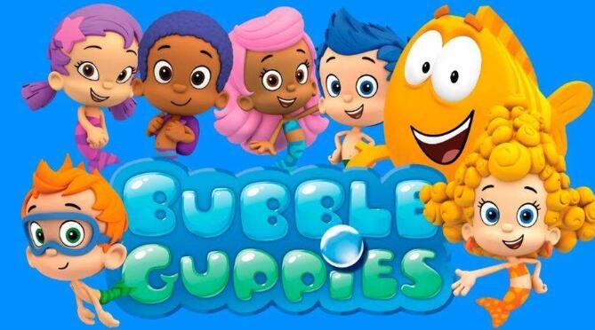 儿童英语动画片 泡泡孔雀鱼第一、二季 Bubble Guppies电子书