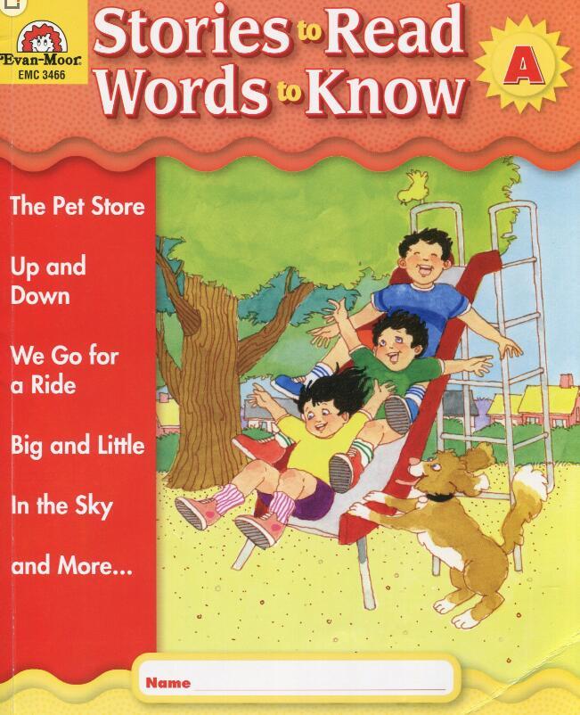 美国加州小学教材Stories to Read(GK~G6)