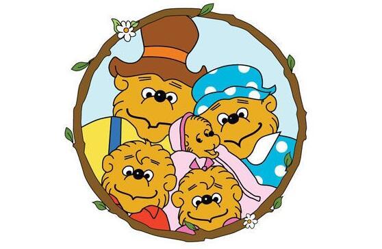 适合孩子观看的动画片 熊视频英文版+中文版免费下载必备资源下载!
