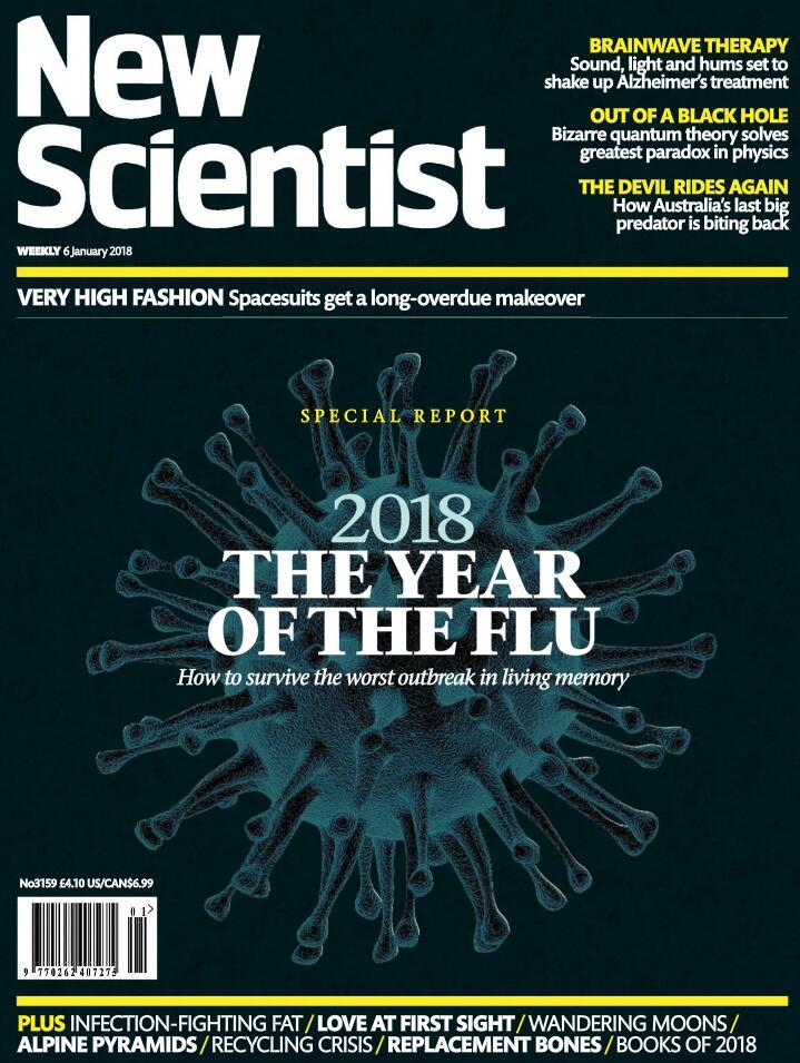 《新科学家》(New scientist)—— 1.6~1.13期电子版下载!