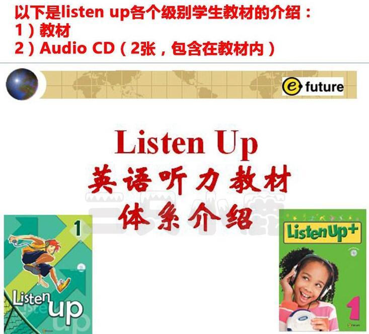儿童最佳英语听力强化训练教材 4册教材+练习册+mp3资源共享pdf百度云!