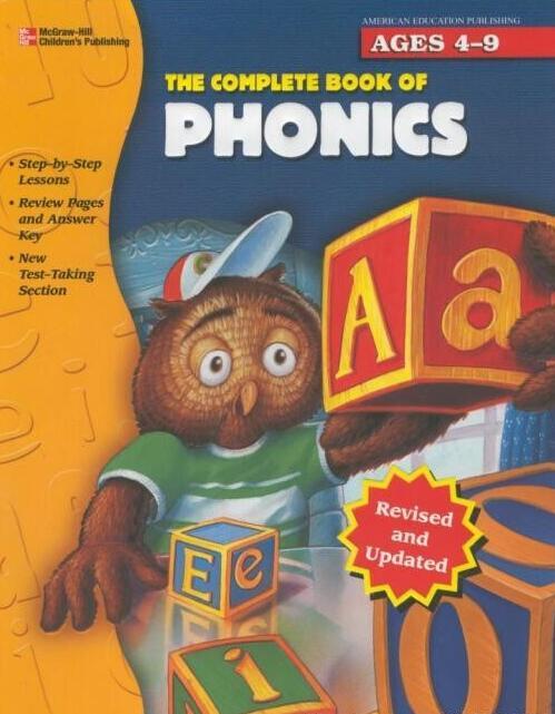 少儿最佳自然拼读教材The Complete Book of Phonics资源共享资源大全