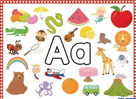 儿童英语启蒙教材书  PREK-GK英文字母学习教材高清PDF下载资源分享