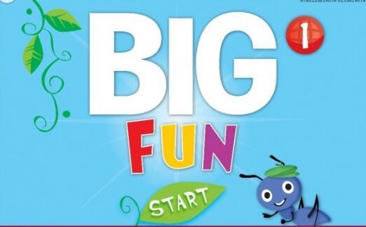 培生Big Fun教材课程  全套教材白版软件网盘下载音频分享!