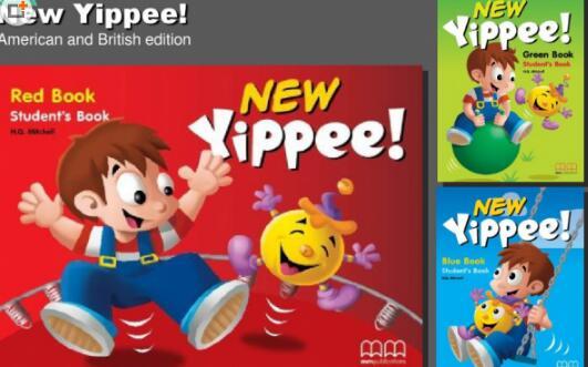 英国儿童英语培训教材new yippee 白板软件