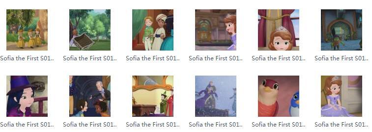 小公主苏菲亚英文版 Sophia the First全季 百度资源共享资源下载