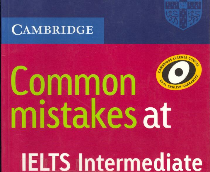 剑桥官方出版社Common Mistakes at IELTS Intermediate高清PDF下载资源分享!