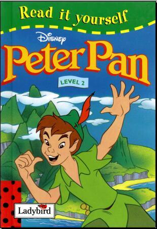 儿童英语杂志瓢虫Ladybird分级阅读《彼得潘》 百度云盘资源共享免费获取。