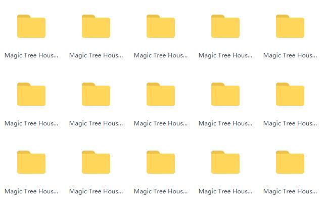 最佳英语读物系列  《Magic Tree House》1-45 MP3资源分享下载自取