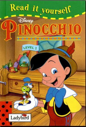 儿童英语杂志  瓢虫Ladybird分级阅读《木偶奇遇记 》分享系列下载!