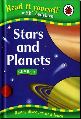 小学生英语杂志  瓢虫Ladybird分级阅读《恒星和行星》分享学习资源下载!