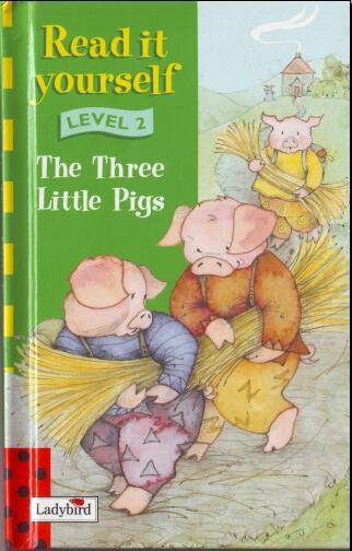 小学生英语杂志  瓢虫Ladybird分级阅读《三只小猪》分享
