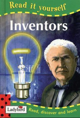儿童英语杂志  瓢虫Ladybird分级阅读《发明家》分享资料大全