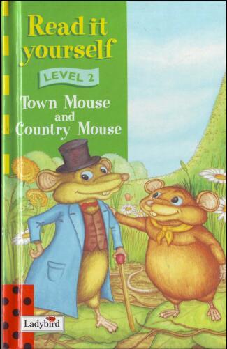 小学生英语杂志  瓢虫Ladybird分级阅读《城里老鼠和乡下老鼠》分享你还没有吗?