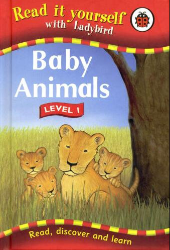 瓢虫Ladybird分级阅读《动物宝宝》 适合孩子的最佳阅读书籍你还没有吗?