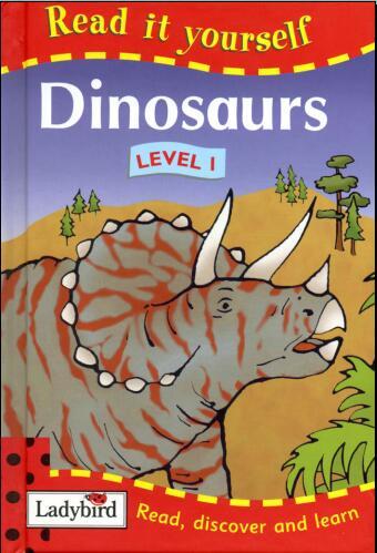 少儿英语杂志瓢虫Ladybird分级阅读《恐龙》下载