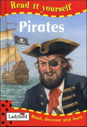 儿童英语杂志  瓢虫Ladybird分级阅读《海盗》分享系列下载!