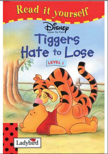 儿童英语杂志 瓢虫Ladybird分级阅读《输不起的老虎》分享建议人手一份!