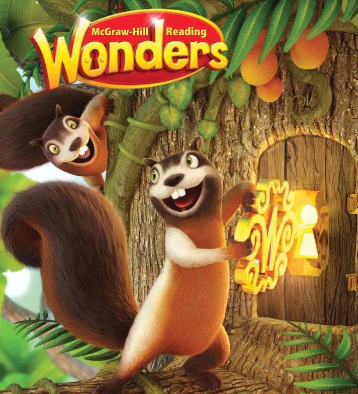 原版美国加州英语教材——Reading Wonders课本点读版(音频+视频)