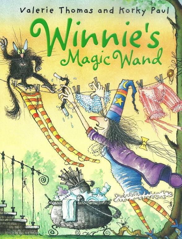 原版英文绘本Winnie The Witch女巫温妮系列  绘本+音频+动画下载系列分享!