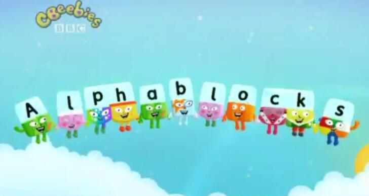 BBC自然拼读Alphablocks字母积木动画片值得收藏!