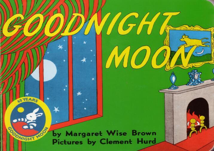 精美原版英文儿童绘本《月亮晚安》 PDF + MP3下载系列下载!