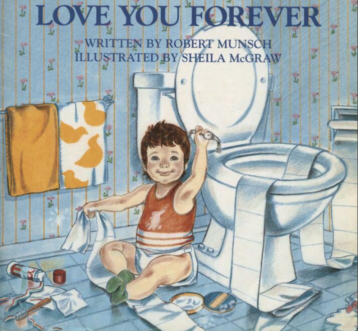 原版少儿英语绘本《永远爱你》PDF+MP3学习分享