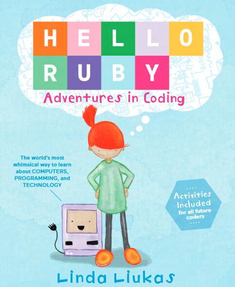 另类儿童绘本 《Hello Ruby - Adventures in Coding》—— 高清PDF电子书