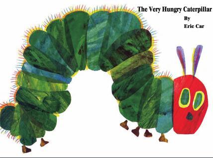 原版少儿英语绘本《好饿的毛毛虫》PDF+MP3+视频资源分享云盘下载!
