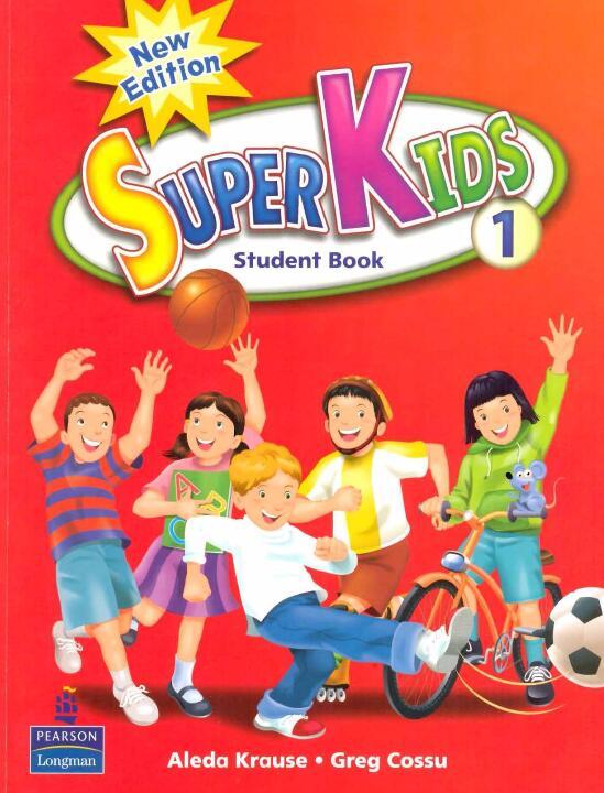 幼儿英语启蒙—— New Super Kids 1-3 课本PDF版下载(音频+视频)