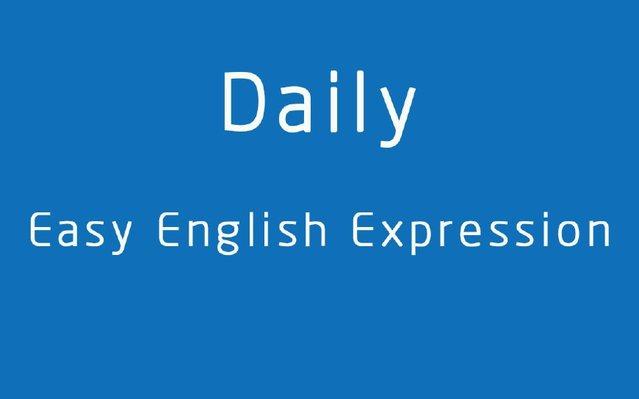 少儿英语资料 分享日常简单英语表达Daily Easy English Expressionpdf下载!