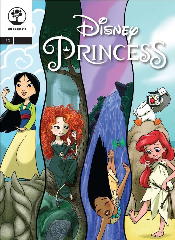 培养孩子阅读兴趣 迪士尼公主漫画系列 Disney Princess 1-12本高清下载赶快收藏!