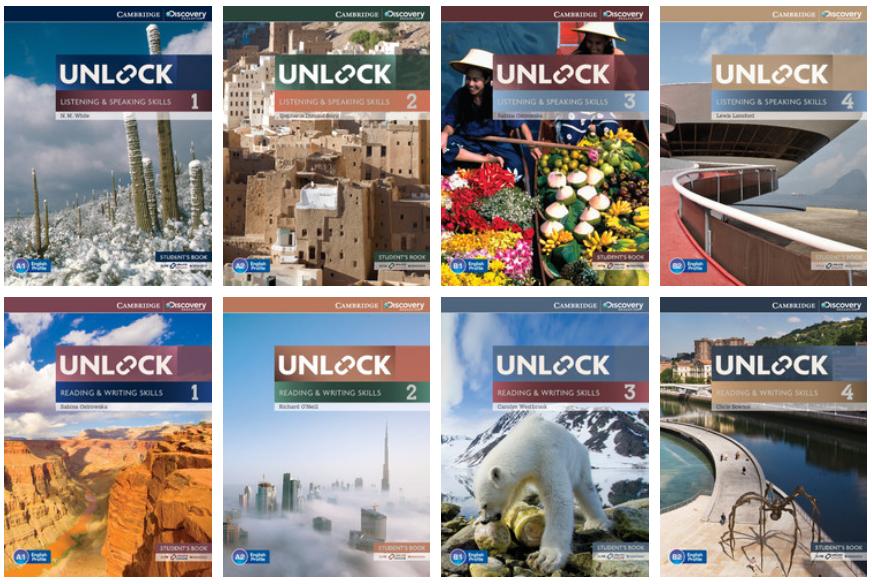 Unlock 系列 剑桥出版原版教材 Reading and Writing