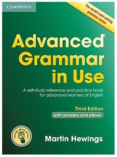 Advanced Grammar in Use 剑桥高级语法教材云盘免费下载免费下载