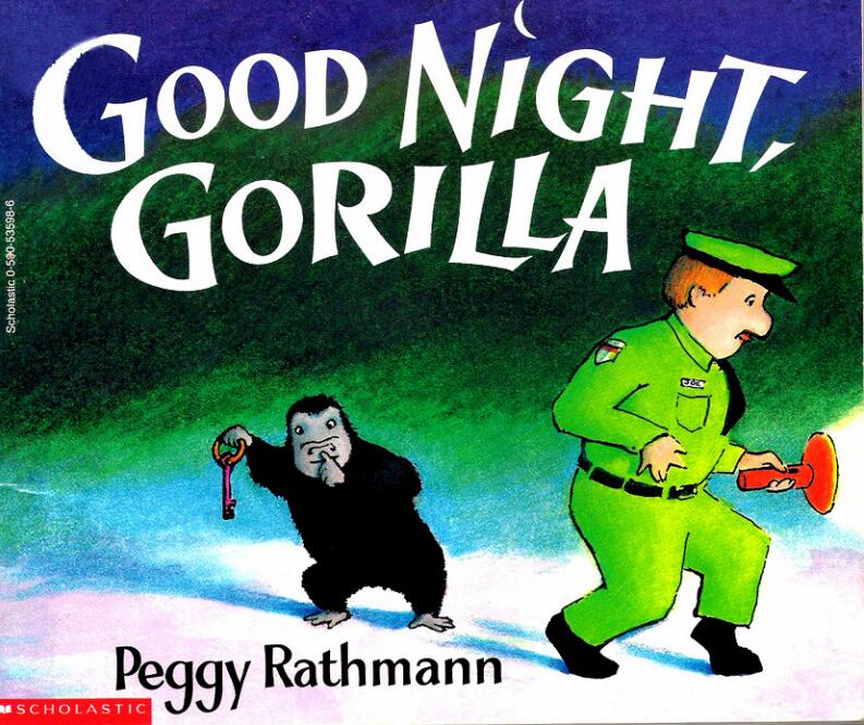 英语晚安绘本--good-night-gorilla 晚安大猩猩英文绘本视频下载!