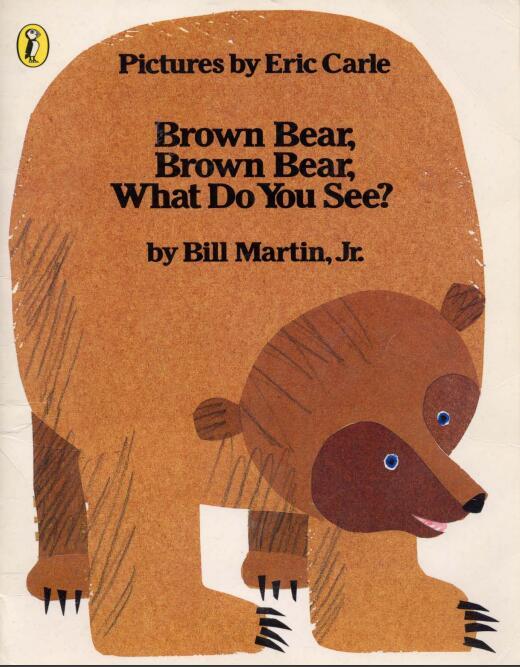 少儿英语启蒙绘本--brown bear what do you see--棕熊你看到了啥?百度网盘分享!