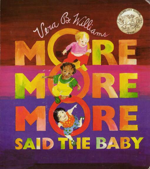 儿童英语启蒙绘本-More More More 更多更多更多下载百度网盘分享!