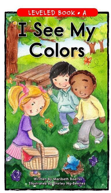 少儿英语启蒙--I see my colors-《看图识颜色》PDF下载免费领取!