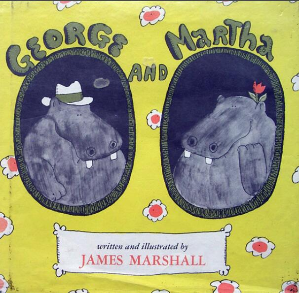 少儿英语绘本---《乔治和玛莎》适合5岁以上儿童