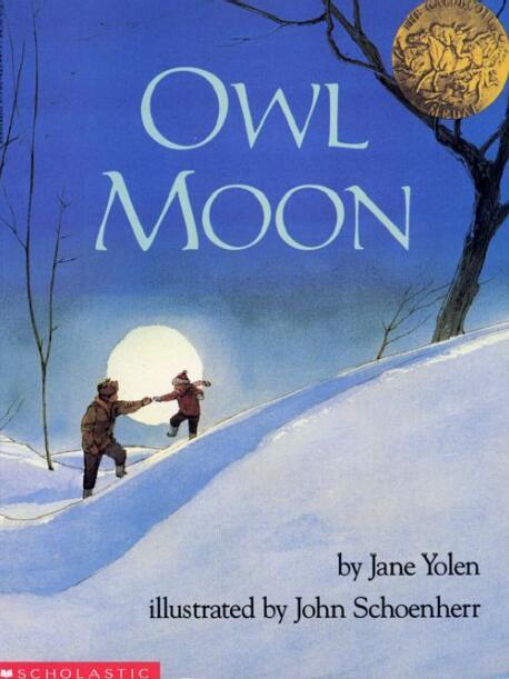 少儿英语绘本--Owl Moon《猫头鹰与月光》适合5岁以上儿童系列下载!