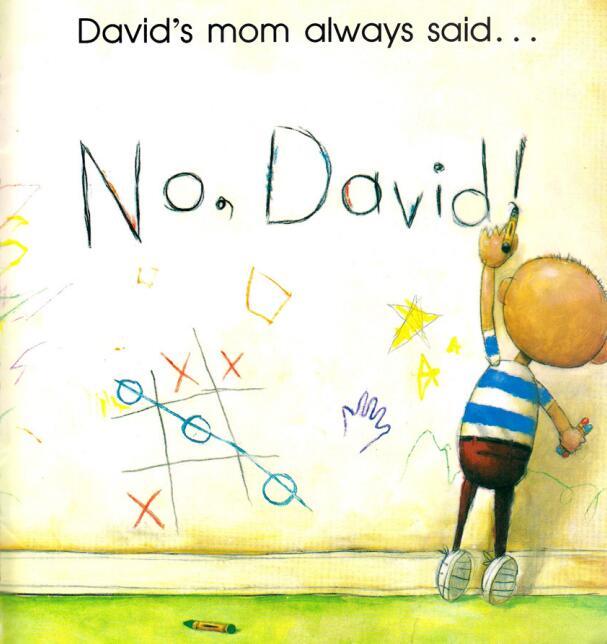 少儿英语绘本--No, David《顽皮的大卫》下载百度网盘分享!