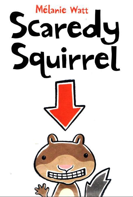 少儿英语绘本--《胆小的小松鼠》Scaredy Squirrel 绘本下载你需要吗?